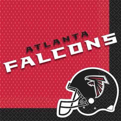 Atlanta Falcons Lunch Napkins (16/pkg)