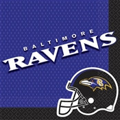Baltimore Ravens Lunch Napkins (16/pkg)