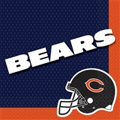 Chicago Bears Lunch Napkins (16/pkg)