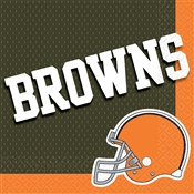 Cleveland Browns Lunch Napkins (16/pkg)