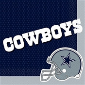 Dallas Cowboys Lunch Napkins (16/pkg)