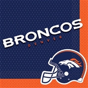 Denver Broncos Lunch Napkins (16/pkg)