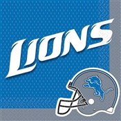 Detroit Lions Lunch Napkins (16/pkg)