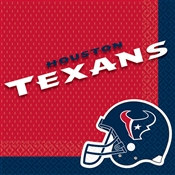 Houston Texans Lunch Napkins (16/pkg)