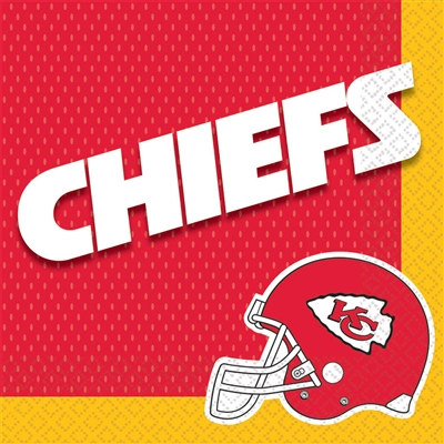 Kansas City Chiefs Lunch Napkins (16/pkg)