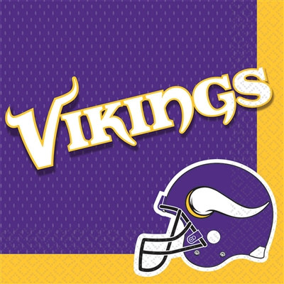 Minnesota Vikings Lunch Napkins (16/pkg)