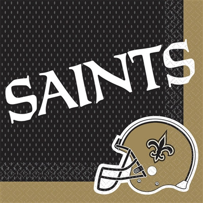 New Orleans Saints Lunch Napkins (16/pkg)