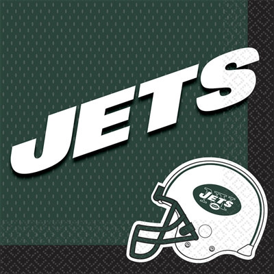 New York Jets Lunch Napkins (16/pkg)