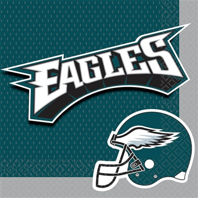 Philadelphia  Eagles Lunch Napkins (16/pkg)