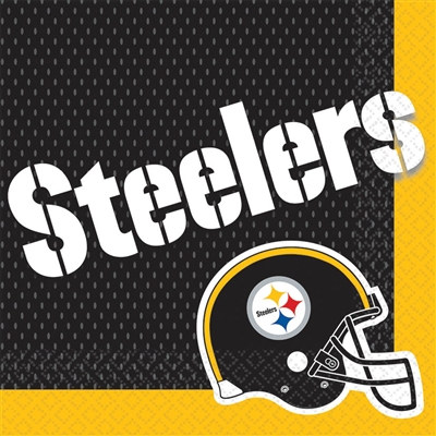 Pittsburgh Steelers Lunch Napkins (16/pkg)