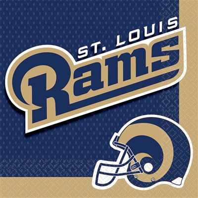 St. Louis Rams Lunch Napkins (16/pkg)