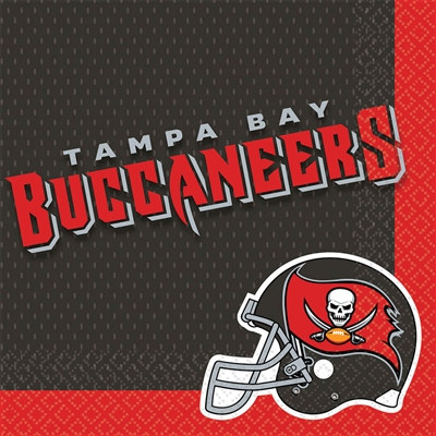 Tampa Bay Buccaneers Lunch Napkins (16/pkg)