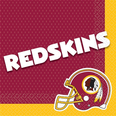 Washington Redskins Lunch Napkins (16/pkg)