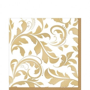 50th Anniversary Lunch Napkins (16/pkg)