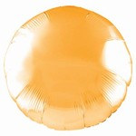 Gold Metallic Mylar Round Balloon