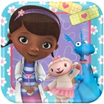 Doc McStuffins Square Plates 7 inches