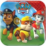 Paw Patrol Square Plates 7 inches