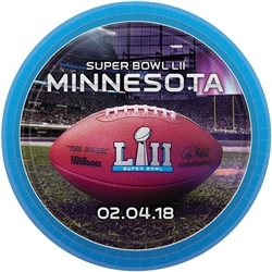 The Super Bowl 52 Dessert Plates are made of cardstock and measure 7 inches. Contains eight (8) plates per package.
