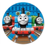 Thomas and Friends Dessert Plates (8/pkg)