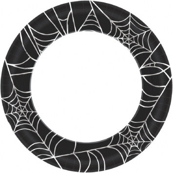 Spider Web Lunch Plates (40/pkg)