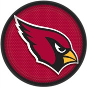 Arizona Cardinals Lunch Plates (8/pkg)