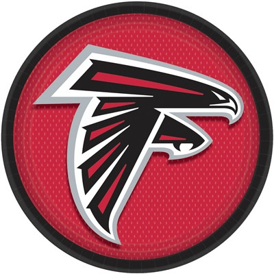 Atlanta Falcons Lunch Plates (8/pkg)