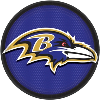 Baltimore Ravens Lunch Plates (8/pkg)