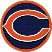 Chicago Bears Lunch Plates (8/pkg)