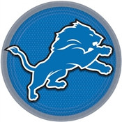 Detroit Lions Lunch Plates (8/pkg)