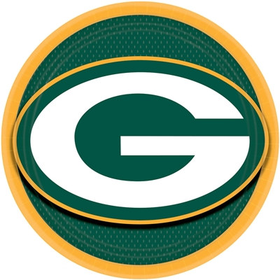 Green Bay Packers Lunch Plates (8/pkg)