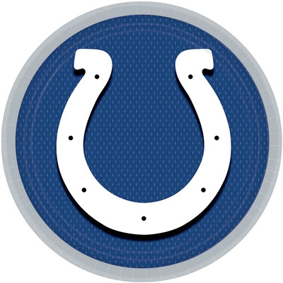 Indianapolis Colts Lunch Plates (8/pkg)