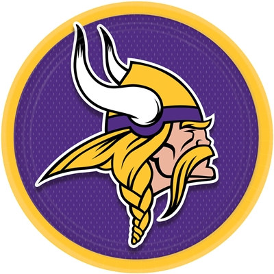 Minnesota Vikings Lunch Plates (8/pkg)