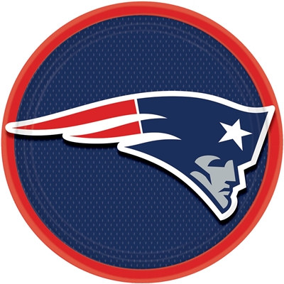 New England Patriots Lunch Plates (8/pkg)