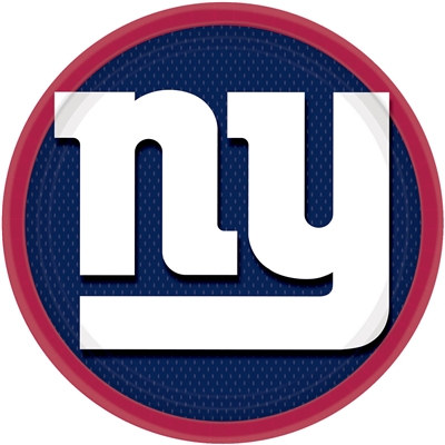New York Giants Lunch Plates (8/pkg)