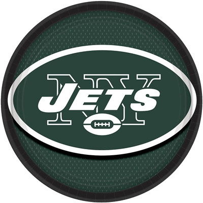 New York Jets Lunch Plates (8/pkg)
