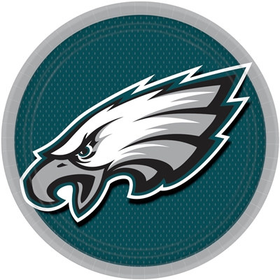 Philadelphia Eagles Lunch Plates (8/pkg)