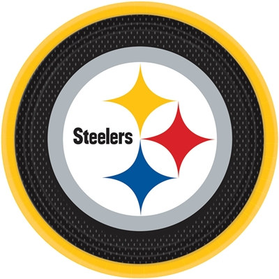 Pittsburgh Steelers Lunch Plates (8/pkg)