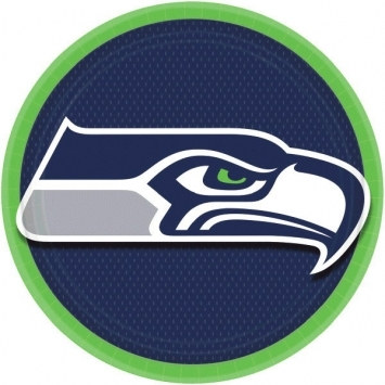 Seattle Seahawks Lunch Plates (8/pkg)