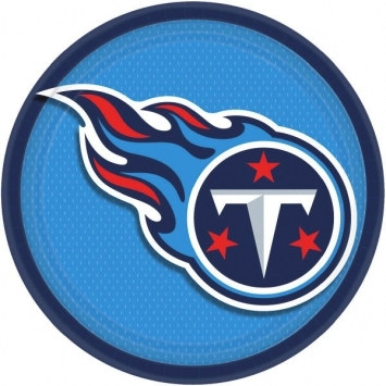 Tennessee Titans Lunch Plates (8/pkg)
