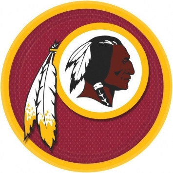 Washington Redskins Lunch Plates (8/pkg)