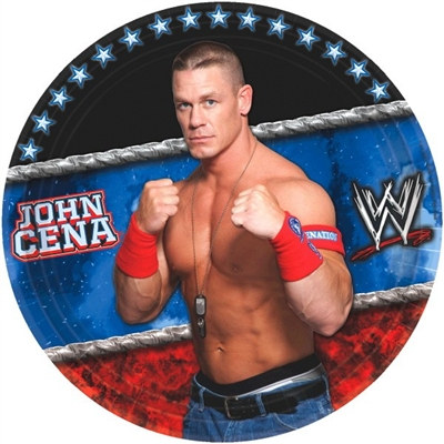 WWE Lunch Plates (8/pkg)