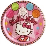 Hello Kitty Lunch Plates (8/pkg)