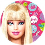Barbie Lunch Plates (8/pkg)