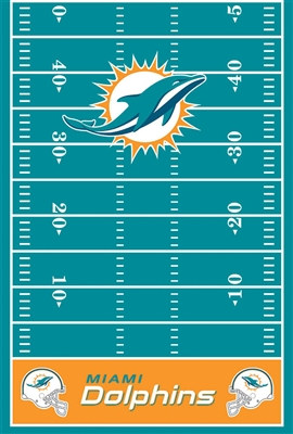 Miami Dolphins Tablecover