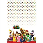 Super Mario Brothers Plastic Table Cover