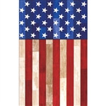 Old Glory  Plastic Table Cover