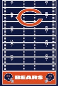 Chicago Bears Tablecover