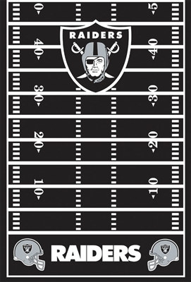 Oakland Raiders Tablecover