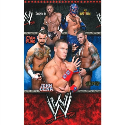 WWE Paper Table Cover