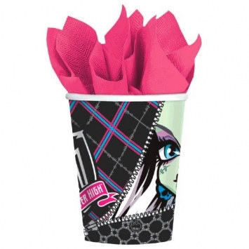 Monster High Hot/Cold Cups (8/pkg)